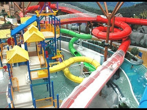 Bahrain Wahoo Water Park – Seef area City Center Shopping Mall