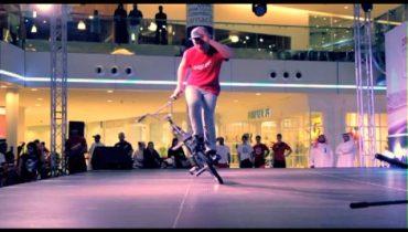 BMX flatland & Basketball Dunking Stage Show in Bahrain