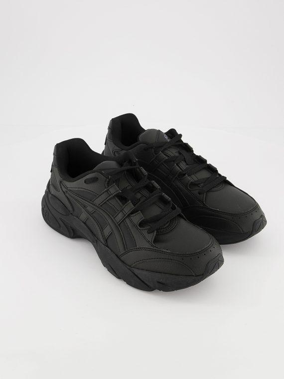 Mens Gel-Bnd Lace Up Running Shoes Black/Black