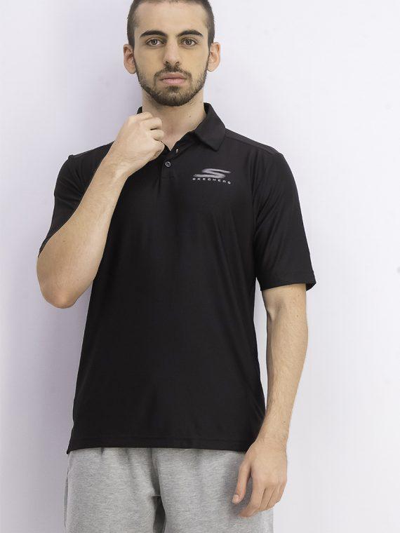 Mens Pine Valley Polo Shirt Black