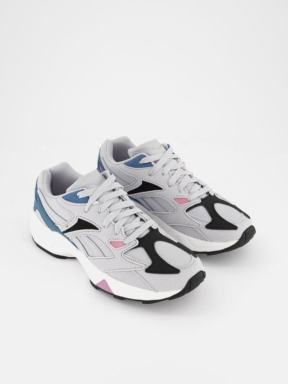 Womens Aztrek 96 Running Shoes Stegrey/Seateal/Pospink