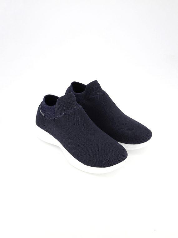 Womens Go Step Lite-Ultrasock Sneakers Navy