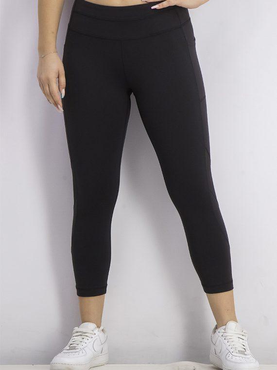 Womens Grace Mid Calf Leggings Black