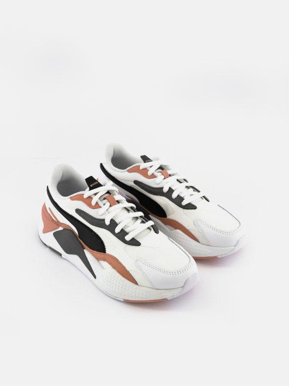 Womens RS-X³ Colorant Shoes White/Black/Castlerock