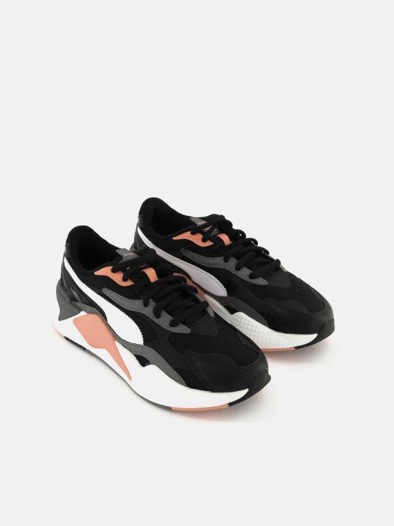 Womens RS-X3 Colorant Shoes Black/White/Castlerock