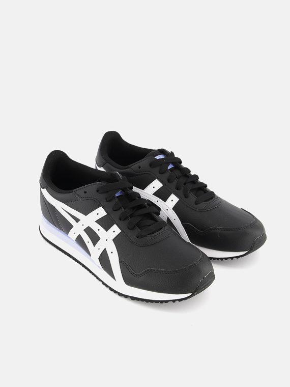Womens Tiger Runner Shoes Black/White